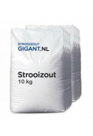 Strooizout 10x 10kg