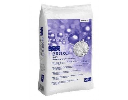 Broxo zout 6-15 à 25kg