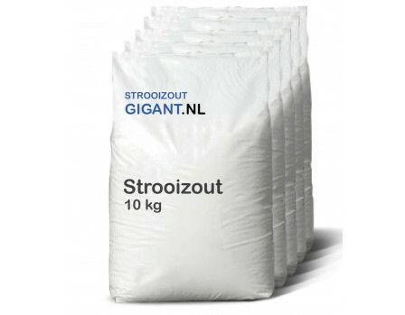 90 zakken van 10kg Strooizout