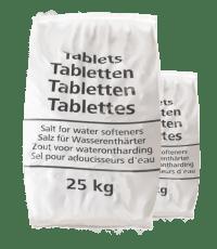 20 zakken Salina zouttabletten