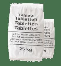 20 zakken Delto zouttabletten