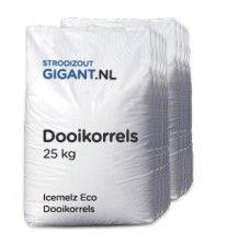 10 zakken dooikorrels (ureum)