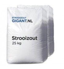 10 zakken strooizout a 25kg