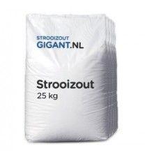 5 zakken strooizout a 25kg