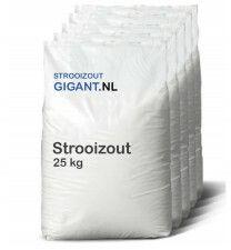 Strooizout 10x 25kg