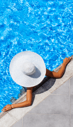 Zwembadzout